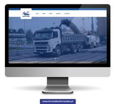 A Fernandes & Fernandes - Construção Civil & Obras Públicas, conta agora com um novo Web Site, aqui poderá ver algumas das nossas obras e equipamentos que temos para aluguer.  VISITE O NOSSO NOVO WEB SITE: www.fernandesefernandes.pt  Facebook: www.facebook.com/FernandesFernandesLda-148309305364924/?pnref=lhc  Twitter: www.twitter.com/miguel82089456 Pt Facebook, Web Design, Twitter, Advertising, Design Web, Website Designs, Site Design
