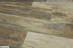 Wood look bathroom wall tile? Ending up with a permanent hipster pallet wall -- Genius or bad idea? Wood Grain Tile, Wood Tile Floors, Wood Look Tile, Plank Flooring, Hardwood Floors, Flooring Ideas, Floor Design, House Design, Wall Tile