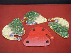 Χριστουγεννιάτικα, ξύλινα σουβέρ Sugar, Cookies, Desserts, Food, Crack Crackers, Tailgate Desserts, Deserts, Biscuits, Cookie Recipes