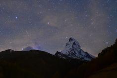 Starry Sky over the Matterhorn js