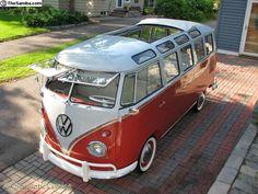 '61 VW 23 Window Samba