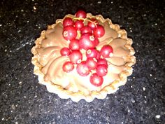 Chocolate Crème Tart - Real chocolate patisserie cream in a sweet pastry topped with fresh fruit or chocolate treats.