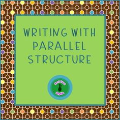 Complete, no-prep lesson on parallel structure with 28 task cards to practice identifying and correcting sentences that are not parallel.