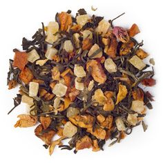 Honey, I Dew from David's Tea.  White tea with pineapple, watermelon, mango, apple, amd rose petals. ($12.50/2oz)
