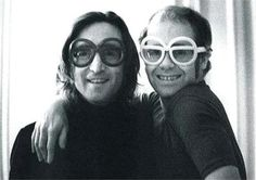 John Lennon and Elton John -- Great friends, Brits, & they made a Number One HIT song together. BOOM! Lennon had the Magic. Dang!