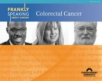 Frankly Speaking About Cancer: Colorectal Cancer. Free information and materials