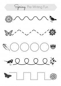 what a great prewriting activity to do on a light table or a kitchen table - Free Activity Sheets For Kids
