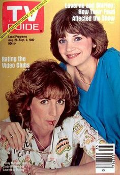 Vintage Television, History Of Television, Archie Comics, 1980s Tv Shows, Cindy Williams, Penny Marshall, Laverne & Shirley, Old Shows, Great Tv Shows