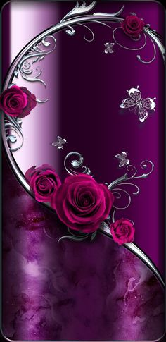 New wallpaper iphone love romantic ideas Bling Wallpaper, Wallpaper Iphone Love, Flower Phone Wallpaper, Heart Wallpaper, Purple Wallpaper, Butterfly Wallpaper, Cellphone Wallpaper, New Wallpaper, Wallpaper Backgrounds