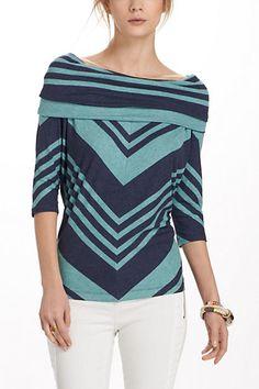 Anthro shawl top