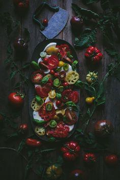 Caprese Salad by Eva Kosmas Flores | Adventures in Cooking