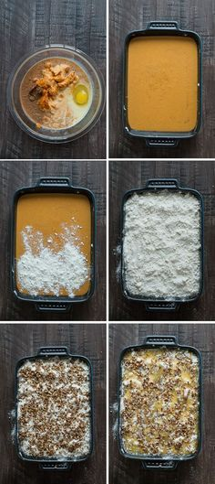 Pumpkin Dump Cake - This is our favorite fall dessert and I can't believe how…