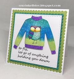 Hi,     Welcome to my blog, and the Elizabeth Craft Designs Winter Sweater Blog Hop. Today the Elizabeth Craft Designs Design Team are havi...