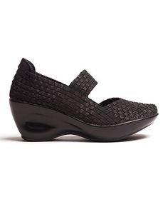 Black Erin Wedge by CC Resorts So comfortable! These shoes rock! The perfect heels for everyday wear. You can walk all day in these! Over 75% off! Hurry the sale ends soon. Other colors and styles available.   Vegan cruelty free man made materials.  Sandals wedges wedge heel