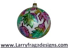 """Pastel Autumn Leaves."" Available from: www.larryfragadesigns.com"