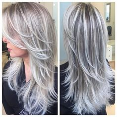 ombre hair platinum blonde - Google Search