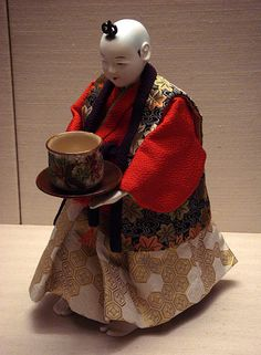 "Tea-serving ""Karakuri Ningyo"" (mechanized automaton)"