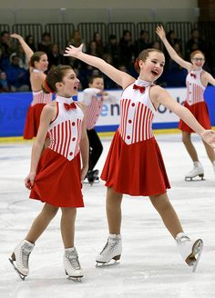 Competition Recap: 2017 Midwest & Pacific Coast Synchronized Skating Championships-Madison Ice Diamonds-Pre Juv