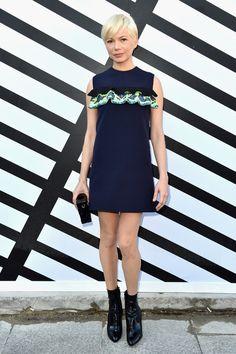 Michelle Williams au défilé Louis Vuitton printemps-été 2017