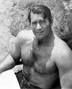 "Clint Walker...he stood 6', 6"" tall with a 48""chest and a 32"" waist. Starred in TV and movies from the mid 50's thru the 80's. http://www.imdb.com/name/nm0907636/bio"