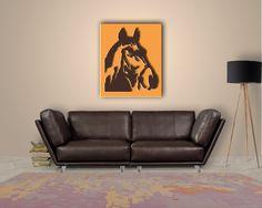 Awesome Wer Pferde mag wird diese Wanddeko lieben Dieser Pferdekopf ist ideal