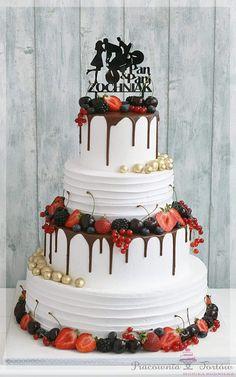 Wedding Cakes, Birthday Cake, Rose, Cake Ideas, Desserts, Cake Wedding, Wedding Ideas, Food And Drinks, Deco