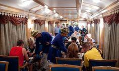 Indian Maharaja Train restaurants