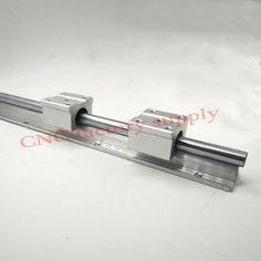 Free shipping SBR16 16mm rail L400mm linear guide SBR16-400mm with 2pcs SBR16UU Set cnc router part linear rail //Price: $35.63//     #onlineshop Cnc Router Parts, Cnc Parts, Dc Dc Converter, Linear Actuator, Printer Scanner, Guide, Cool Things To Buy, 3d Printing, Free Shipping