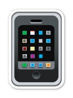 Mobile Phone | EmojiStickers.com