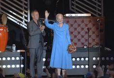 Queen Margrethe opened the Aarhus Festival August 29, 2014