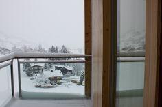 Blick vom Balkon Kempinski Jochberg Tirol, Austria.