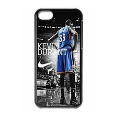 Sports 7 NBA Team Oklahoma City Thunder Kevin Durant Print Black Case With Hard Shell Cover for Apple iPhone 5C...