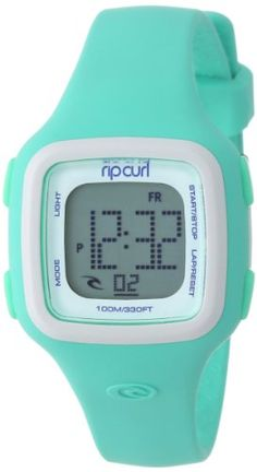 Rip Curl Women's A2466G - MNW Candy Mint White Digital Watch