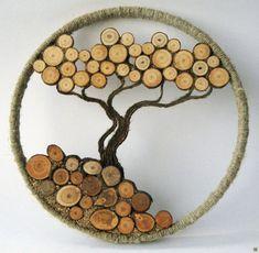 Прикольные идеи применения древесных спилов