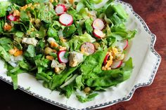 A Dash of Nostalgia: Spring Salad With Herbs