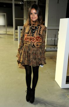 Miroslava Duma Photos - Derek Lam - Front Row - Fall 2012 Mercedes-Benz Fashion Week