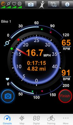 iPhone ScreBioLogic BikeBrain – GPS bike and cycle computerenshot 1