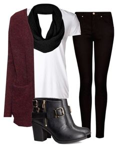 """""""Untitled #18"""" by paolandreasc ❤ liked on Polyvore featuring MANGO, James Perse, Topshop and H&M"""