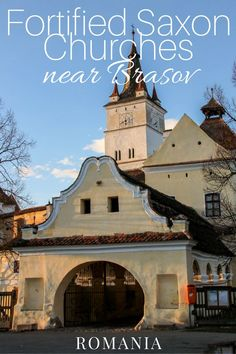 Must-See Fortified Saxon Churches near Brasov | ROMANIA: