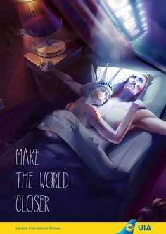 Ukraine International Airlines: Make the World closer