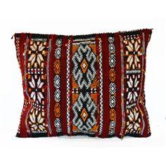 Moroccan Berber Kilim Pillow Cover.  http://www.worldtravelart.com/Colorful_Berber_Kilim_Pillow_Cover_Morocco_p/003578.htm