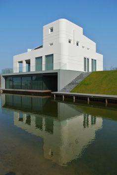 Moderne Häuser von Waterstudio.NL