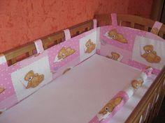 7 оригинальных бортиков в кроватку для самостоятельного шитья. Универсальные выкройки бортиков в кроватку