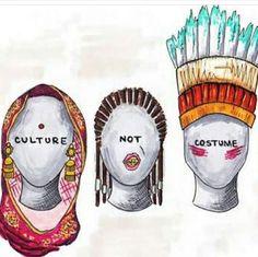 Culture. Not costume