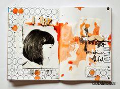 made by Olennka ► SODAlicious art journal challenge No25