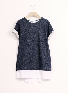l'amour est bleu - Longpullover Sweater - Modern sustainable fashion - www.lamourestbleu.com