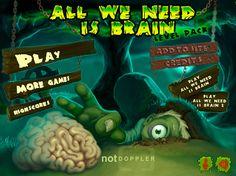 Estos zombies su gran alimento es el cerebro y ahora puedes utilizarlo para hacer una trampa y que salgan de su tumba para poder eliminarlos y así ser el mejor en este juego.