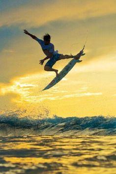 Surfing, surfing, surfing!