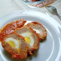 Polpettone à la sauce tomate