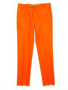 Marc Jacobs orange pants
